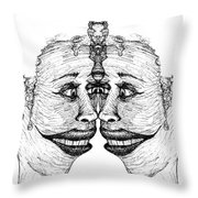 Narcissistic Throw Pillow