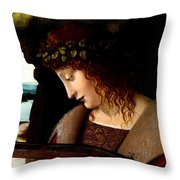 Narcissus Detail Throw Pillow