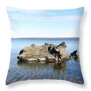 Narraganset Bay 4 Throw Pillow