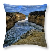 Narrow Inlet Throw Pillow