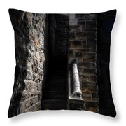 Narrow Staircase Throw Pillow