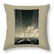 Narrow's Bridge Throw Pillow
