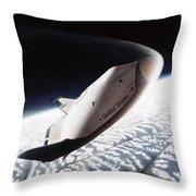 Nasa: Crew Return Vehicle Throw Pillow
