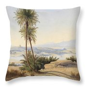 Naser In The Province Of Sukot Throw Pillow