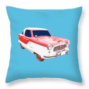 Nash Metropolitan Tee Throw Pillow