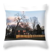 Nashua House Throw Pillow by Michael Tesar