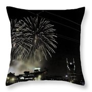 Nashville 4th Of July Throw Pillow
