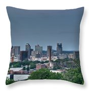 Nashville Skyline 2 Throw Pillow