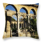 Nassau Cloisters Throw Pillow
