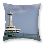 Nassau - Coral World Redux Throw Pillow