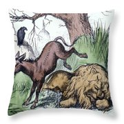 Nast: Democratic Donkey Throw Pillow
