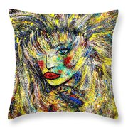 Natalya Throw Pillow