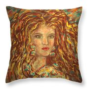 Natashka Throw Pillow