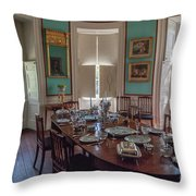 Nathaniel Russell Dining Room Throw Pillow
