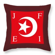 Nation Of Islam Flag Throw Pillow