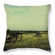 National Battlefield Park - Manassas Va Throw Pillow