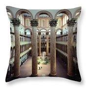 National Building Museum Interior Throw Pillow
