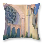 National Cathedral Throw Pillow by Don Perino