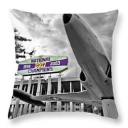 National Champions Throw Pillow