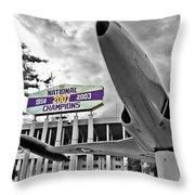 National Champions Throw Pillow by Scott Pellegrin