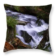 National Creek Falls 03 Throw Pillow