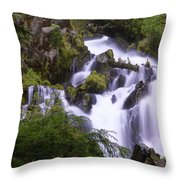 National Creek Falls 05 Throw Pillow