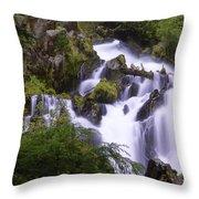 National Creek Falls 05 Throw Pillow