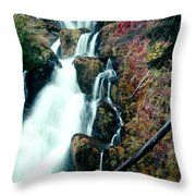 National Creek Falls 07 Throw Pillow