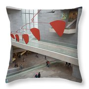 National Gallery Of Art - East Wing Throw Pillow