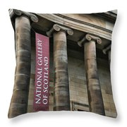 National Gallery Of Scotland  Throw Pillow