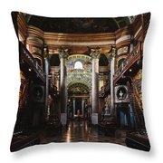 National Library, Vienna Throw Pillow