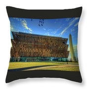 National Museum Of African American History And Culture Throw Pillow