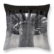 National Museum Of Anthropology 3 Throw Pillow