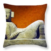 National Museum Of Anthropology 4 Throw Pillow