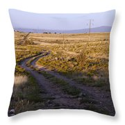 National Old Trails South Of Santa Fe Throw Pillow