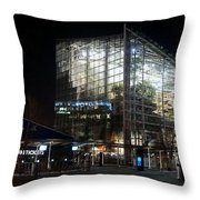 National Seaquarium In Lights Throw Pillow
