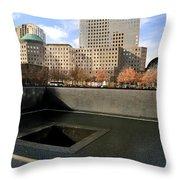 National September 11 Memorial New York City Throw Pillow