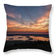National Sunrise Throw Pillow