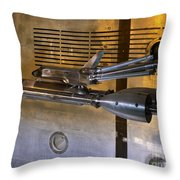 National Transonic Facility Space Shuttle Model Gpn 2000 001914 Throw Pillow
