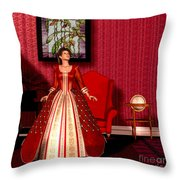 National Velvet Throw Pillow