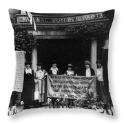 National Womens Party Throw Pillow