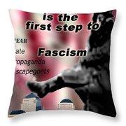Nationalism Throw Pillow