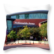 Nationwide Arena Throw Pillow