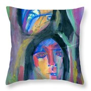 Native America Throw Pillow