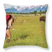 Native American Darcy 3 Throw Pillow