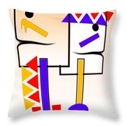 Native American Design Throw Pillow