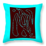 Native American Heritage Throw Pillow