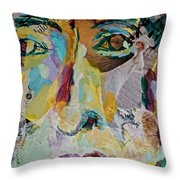 Native American Reflection Throw Pillow