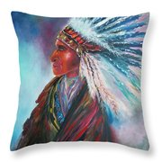Native Blessings Throw Pillow