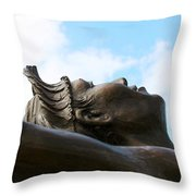 Native Dancer Throw Pillow